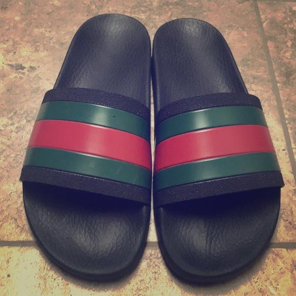 a7b40222f32 Authentic Men s Gucci Slides! M 5b638c8e4cdc30853ae3e349